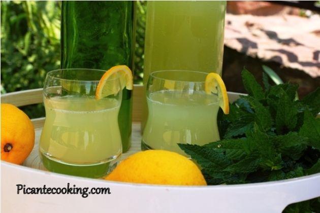 Имбирно-мятный лимонад