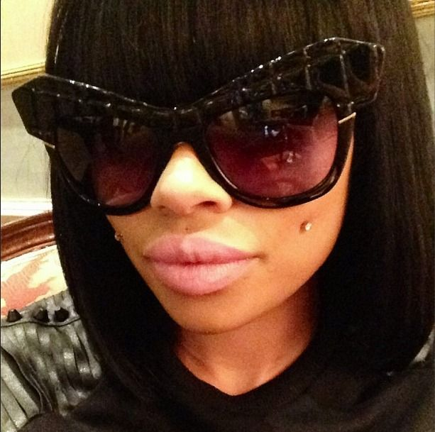 Blac Chyna Shows Off Natural Hair — See Her Surprising Look! (PHOTO)