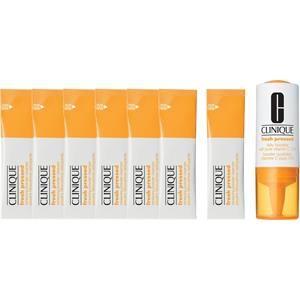 Das Fresh Pressed 7 Day System von Clinique ist eine Kur im Spezial-Set. Mit Fresh Pressed Daily Booster with Pure Vitamin C 10 % von Clinique