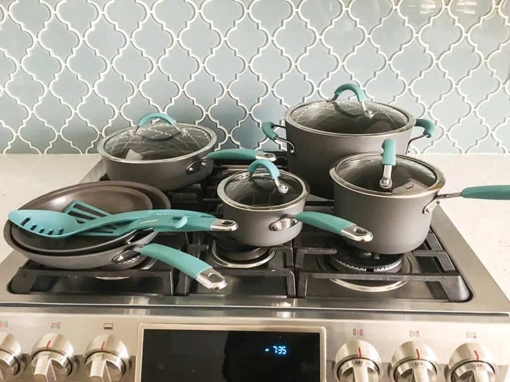 Rachael Ray Hard Anodized Cookware Set Review & Giveaway • Steamy Kitchen Recipes