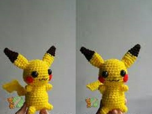 Pokemon Pikachu by crochet ~ Talking Crocheted