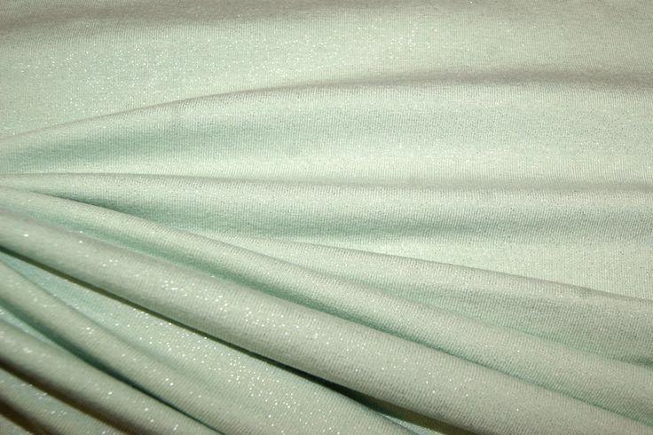 KN15 0518-325 Tricot glitter mint? De Stoffenkraam > Tricot online bestellen.