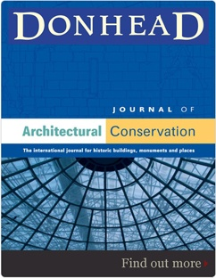 An excellent publication for building conservation professionals