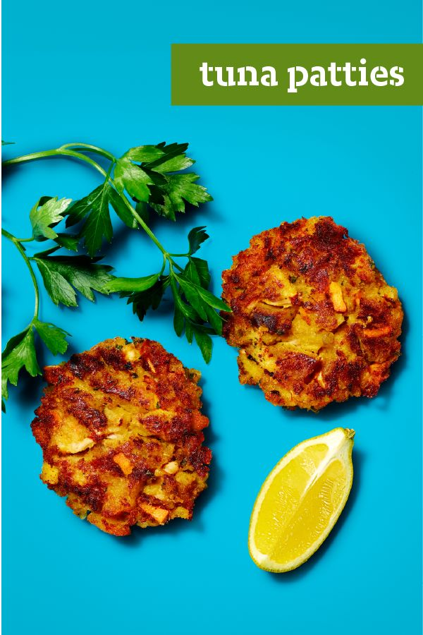 Tuna patties forget everything you know about tuna for Tuna fish patties
