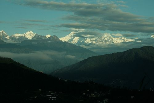 Kanchendzonga - Crowning Sikkim. Kanchendzonga – the third highest mountain of the world is also the guardian deity of Sikkim. The mountain is visible from almost every corner of Sikkim