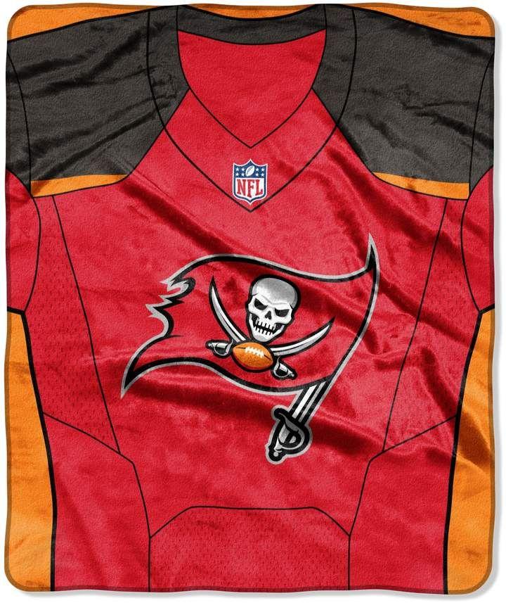 65544231 Tampa Bay Buccaneers Jersey Raschel Throw by Northwest #players#wear ...