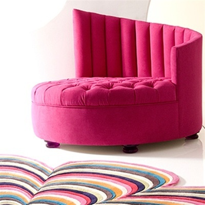 Gorgeously fabulous chair from Cantoni. So love but fabulousness does not come cheap! #pink #decor #design #glam