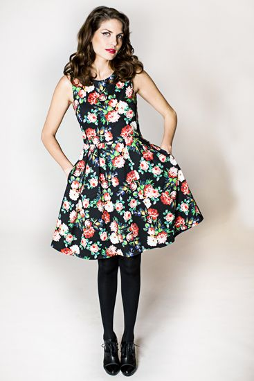 Dress Robin from Maria Westerlind fall collection 2013
