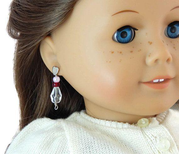 American Girl Doll Rebecca's Beforever Earrings by SmithgirlsDesigns