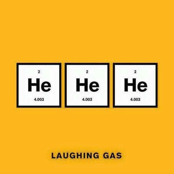 Laughing gas