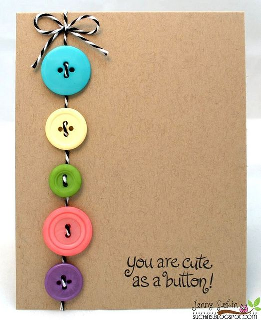 You Are Cute as a Button | by weememories (Jenny) via Flickr