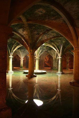 Underground cistern Istanbul, Turkey #Istanbul #Turkey #Türkiye