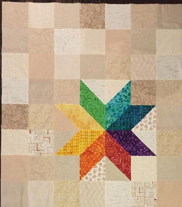 Joyful Star Bright Quilt | Craftsy
