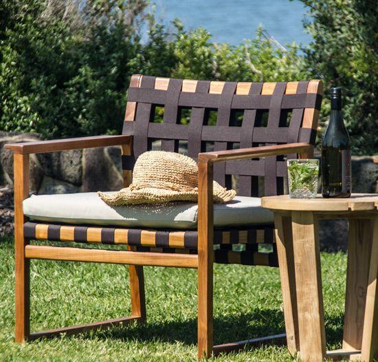 FLC268 Grid Lounge Chair