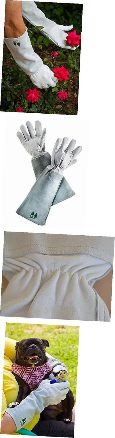 Gardening Gloves 139864: Leather Gardening Gloves. Premium Goatskin Protective Gloves With Cowhide Suede -> BUY IT NOW ONLY: $36.13 on eBay!