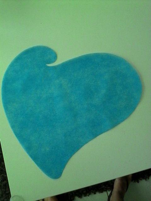 lot de 50 sets de tables en forme de cœur turquoise : Accessoires de maison par 1001-plaisirs