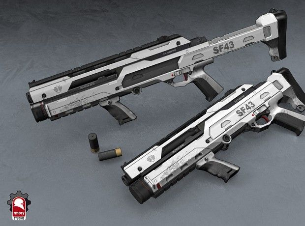 25 best Futuristic Shotguns images on Pinterest | Guns ...