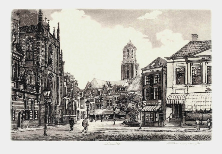 zwolle, Holland