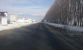 Tractari-Auto-Constanta.ro: Route 84 Velingrad-Razlog-Bansko Bulgaria-February...