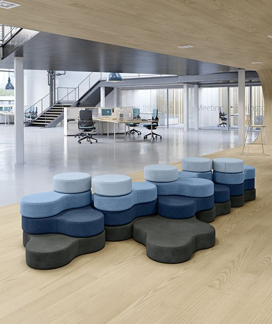 Tapa - these unique versatile and eye-catching poufs are made of the highest quality 95% wool, which makes them soft and long-lasting. They are practical to use as a chair, ground seat cushion, interior decoration or extra seating in an office breakout area. The poufs are perfect accessory elements for any space where you want to add a splash of colour and style.#Tapa #MacStopa #CDW2017