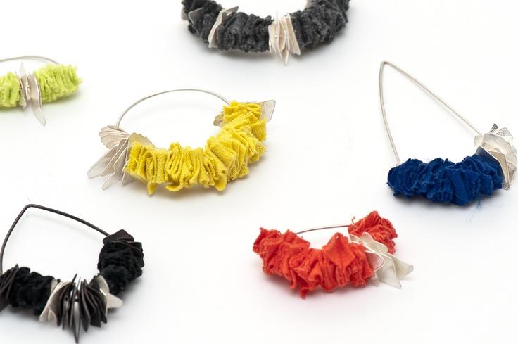 Earrings by Ellie Mücke and Emma Grace (detail)