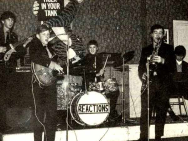 March 31, 1967 Roger Taylor and The Reaction live at Penmare Hotel, Hayle, UK.