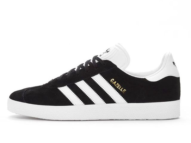 Adidas Gazelle Black White Gold Metallic (BB5476) - RMKstore