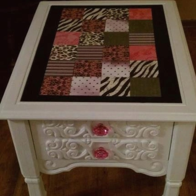 39 Best Repurpose Coffee/End Table Ideas Images On