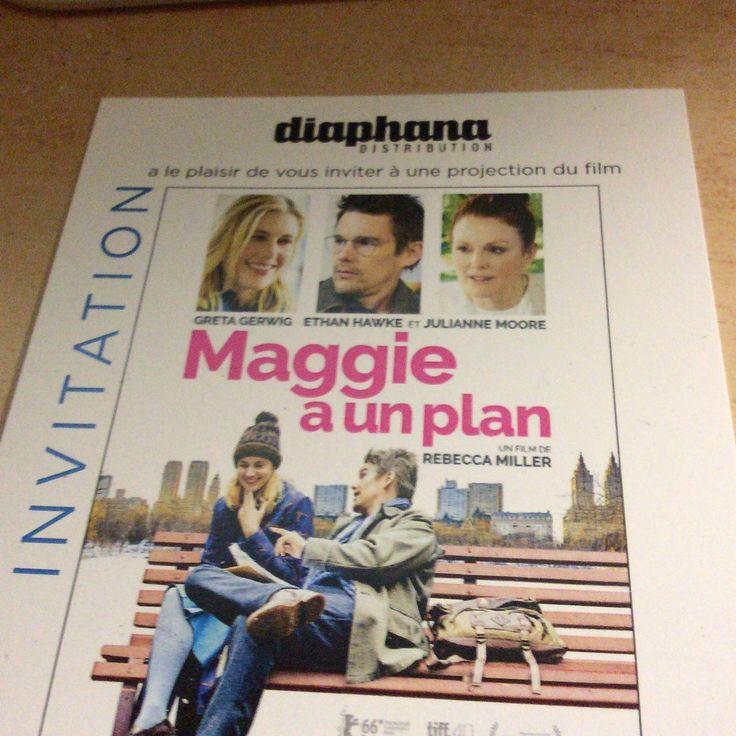 Merci Diaphana Distribution pour ces 2 places de cinéma offertes pour Maggie a un plan réalisé par Rebecca Miller. http://place-to-be.net/index.php/cinema/en-salles/4599-maggie-a-un-plan-realise-par-rebecca-miller