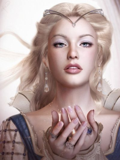 Demetria, quiet friend to Freya. Beautiful singing voice.