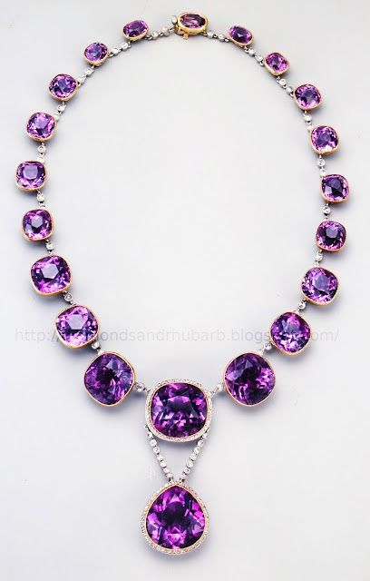 great amethyst necklace