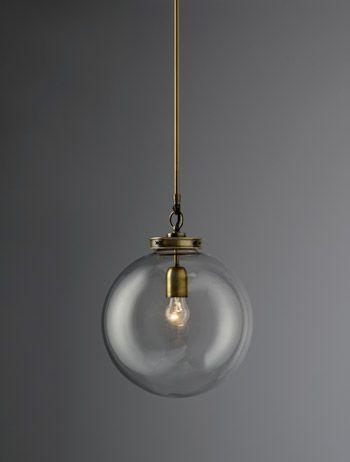 Hector Glass Globe, medium | Chandeliers & Pendants | Hector Finch Lighting