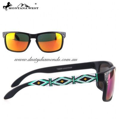 Bling Aztec Sunglasses sold by Dusty Diamonds Australia Www.dustydiamonds.com.au