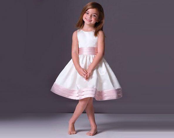 Выкройка платья для девочки без рукавов