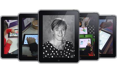 Elle utilise des iPads dans sa classe de petite section depuis plusieurs années. Elle en explore les possibilités pédagogiques et relate son aventure numérique dans un blog passionnant