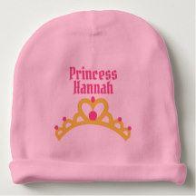 Personalized Ballerina Princess Baby Beanie