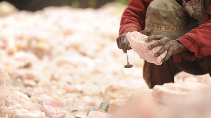 Malawi has a great range of semi-precious stones, including rose quartz, aquamarine, amethyst, citrine and tourmaline. Guy Oliver/IRIN