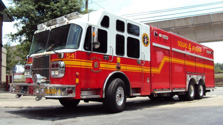 Atlanta Fire Department   Atlanta Fire Rescue Squad 4