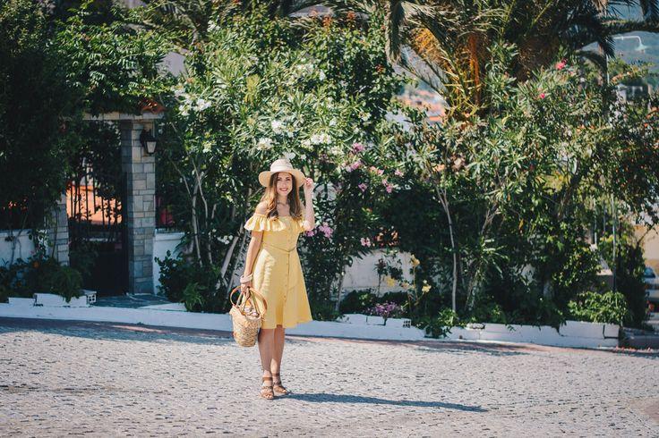 20170607 Желтое солнце платье Sarti Греция