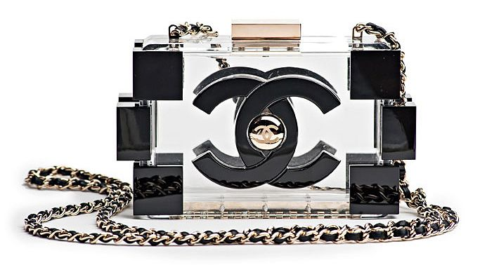 Chanel Lego Clutch . like it or not, ur choice