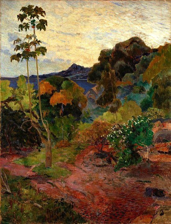 Martinique Landscape (1887) Paul Gauguin (by BoFransson)