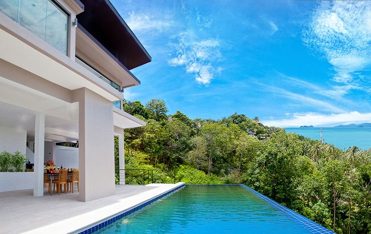 - Secluded on the Bang Por hills, only 500m from beach - Stunning 180 degree panoramic sea-views of the gulf of Thailand! - Spacious 3/4 bedroom/5 bathroom, luxury villa with infinity pool - Sea-views from all 3 floors, private parking, CCTV security - Expansive interiors: 449 square meters in total! - Price for sale: 20 mil THB (625,000 USD) - Contact email: info@conradproperties.asia - Telephone: +66 (0) 92 959 1299 www.conradproperties.asia