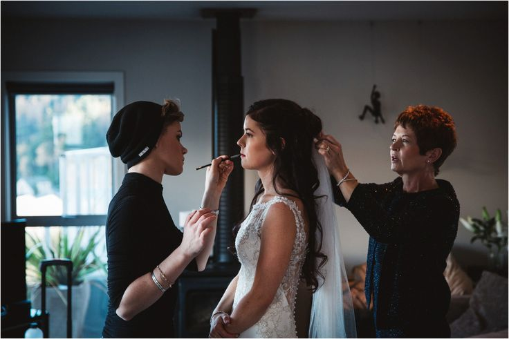 Natural wedding makeup in Queenstown | EVE Makeup Artistry. Photography by Jim Pollard