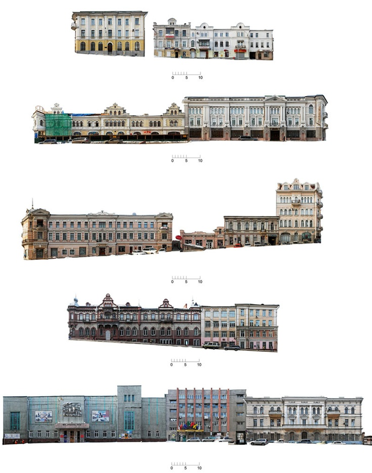Architectural Photogrammetry: very nice measured and reconstructed elevations from photographs on this blog, via stephalin