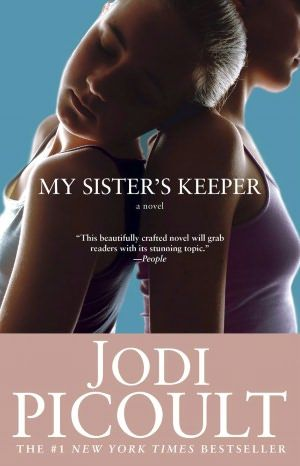Book. My Sister's Keeper. Jodi Picoult. So much better than the movie. Emotional Story.
