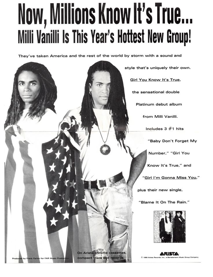 Milli Vanilli: In Motion - The Hit Video Collection