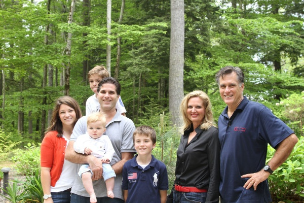 Me and Mitt with Tagg, Jen and their boys.
