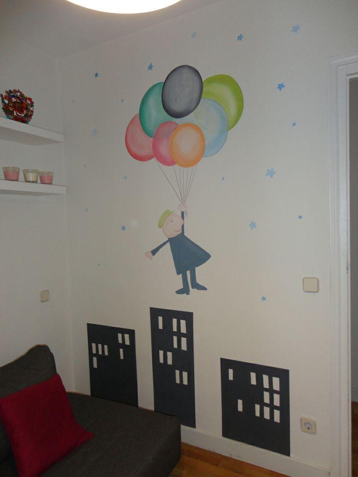 117 best images about murales infantiles on pinterest - Dibujos habitaciones infantiles ...