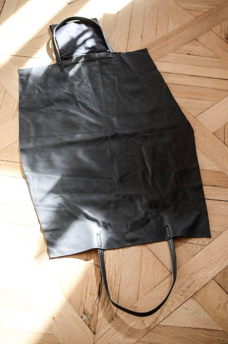 » simple ledertaschen-anleitung bei vera