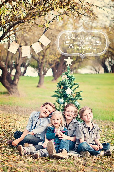 prop &  pose ideas Melissa Gomez Photography: Family Christmas Card Portrait Photography | Paso Robles